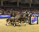 Boyd Exell's team was 'on song' in the electric atmosphere at London Olympia. Photo by FEI /Trevor Meeks