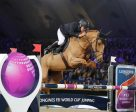 Rio 2016 Olympic team gold medallists, Roger Yves Bost and Sydney Une Prince of France, stormed to victory at the ninth leg of the Longines FEI World Cup Jumping 2016/2017 Western European League at Mechelen, Belgium. (Dirk Caremans/FEI)