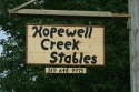 Horse Boarding at Hopewell Creek Stables