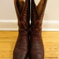 Almost-New Boulet Leather-Sole Boots 8.5D (Women's 11)