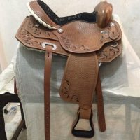 Quality leather Horse Saddle and reins for Sale