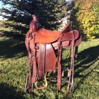 17  inch Ranch saddle