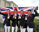 Scott Brash, Ben Maher, Nick Skelton and Peter Charles