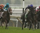 Jockey Justin Stein guides Phil's Dream to victory in the $300,000 Nearctic Stakes at Woodbine