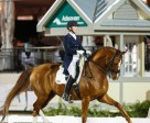 Diane Creech and Devon L received top marks for their new freestyle routine, earning second place in the FEI Grand Prix Freestyle at the Adequan Global Dressage Festival III on Jan. 24 in Wellington, FL, USA. Photo by Susan J. Stickle