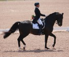 Canadian Olympian David Marcus won the $5,000 Grand Prix, presented by Butternut Ridge, riding Chrevi's Capital for owner Deborah Miculnic Kinzinger at the CDI-W CornerStone Spring Into Dressage competition in Palgrave, ON. Photo by Candid Shot Photography
