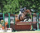 Harold Chopping and Caramo cruise to a $5,000 Devoucoux Hunter Prix win at HITS Culpeper with hopes to impress in September's Diamond Mills $500,000 Hunter Prix Final. Photo by ESI Photography