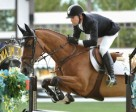 Eric Lamaze and Fine Lady 5 won the $50,000 LaFarge Cup 1.50m. Photo by Spruce Meadows Media