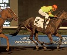 Jockey Euric Da Silva guides Spadina Road to victory in the $125,000 Deputy Minister Stakes at Woodbine. Photo by Michael Burns Photography