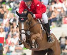 Yann Candele and Showgirl were the first Canadian combination on course. Photo by Cealy Tetley