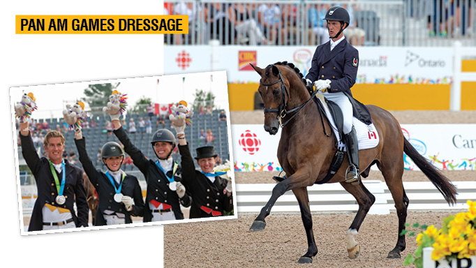 Thumbnail for Pan Am Games Dressage: Nearly Golden