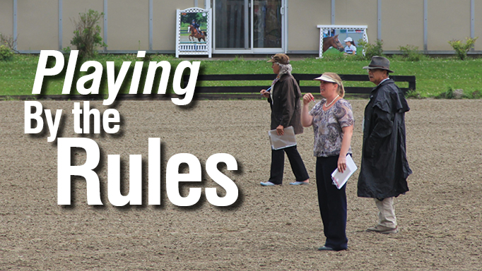 Thumbnail for Playing by the Rules: The Role of the Horse Show Steward