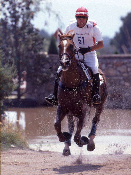 Canadian Olympian, Dr. Rob Stevenson from Lakeside, NB, has been appointed Eventing High Performance Chair for the next cycle of major games. (Elizabeth Furth photo)