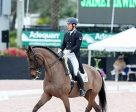 Jaimey Irwin and Donegal V won the FEI Intermediate I Freestyle at the Adequan® Global Dressage Festival. Photo by Susan J Stickle
