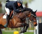 John Anderson and Terrific on their way to a $75,000 Back on Track Grand Prix win. Photo by ESI Photography