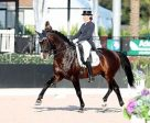 Charlotte Jorst and Kastel's Nintendo won the FEI Grand Prix Special CDI-W at the Adequan® Global Dressage Festival. Photo by Susan J Stickle