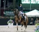 Laura Graves and Verdades won the FEI Grand Prix Freestyle CDI-W at the Adequan® Global Dressage Festival. Photo by Susan J. Stickle