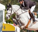Eric Lamaze and Houston won the $35,000 Ruby et Violette WEF Challenge Cup Round III on Thursday, January 26, at the Winter Equestrian Festival in Wellington, FL. Photo by Starting Gate Communications