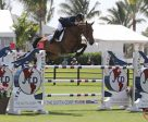Diego Vivero and Bijoux won the $50,000 National Grand Prix at the Winter Equestrian Festival. Photo by Sportfot