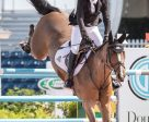 Eric Lamaze and his 2016 Rio Olympic bronze medal partner, Fine Lady 5, won the $130,000 CSI5* WEF Challenge Cup Round V on February 9 at the Winter Equestrian Festival in Wellington, FL. Photo by Starting Gate Communications