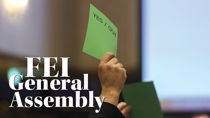 Thumbnail for Decisions from the FEI General Assembly