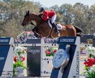 Tiffany Foster of North Vancouver, BC, jumped double clear for Canada riding Victor, owned by Andy and Carlene Ziegler's Artisan Farms and Eric Lamaze's Torrey Pines Stable. Photo by Starting Gate Communications