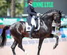 Adrienne Lyle and Salvino won the FEI Grand Prix Special CDI 3* at the Adequan® Global Dressage Festival. Photo by Susan J Stickle