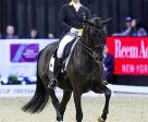 Isabell Werth and Weihegold OLD won the EI Grand Prix at the World Cup Dressage Final Omaha 2017.