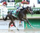 Always Dreaming won the 143rd running of the Kentucky Derby, piloted by John Velazquez. Photo by Coady Photography, Churchill Downs