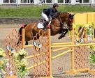 Alexanne Thibault of Boucherville, QC kicked off NAJYRC 2017 with a win in the Jumping Young Rider First Individual Qualifier, held at HITS Saugerties in New York on July 20, partnered with Chacco Prime. Photo by Cealy Tetley - www.tetleyphoto.com