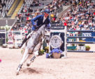 Germany's Daniel Deusser and his new ride, Cornet, scorched to victory at today's opening leg of the Longines FEI World Cup™ Jumping 2017/2018 Western European League in Oslo, Norway. Photo by FEI/Mette Sattrup