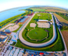 Aerial view of Samorin Equestrian Centre in Slovakia. Photo © Samorin Equestrian Centre