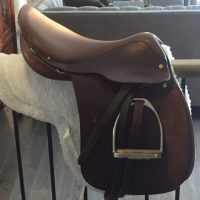 """Crosby """"Vision"""" Saddle (almost new) for Sale"""